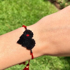 Jewelry - Black Heart Adjustable Bracelet